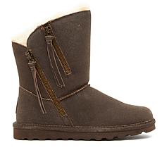 BEARPAW® Mimi Suede Zipper Boot  with NeverWet™
