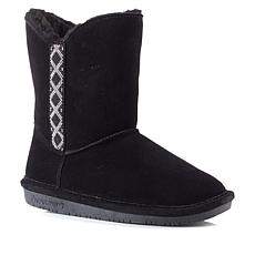 BEARPAW® Paula Suede Beaded Boot with NeverWet™