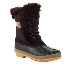BEARPAW® Tess Waterproof Suede Cold Weather Duck Boot