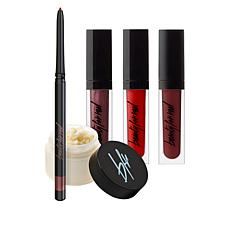 Beauty For Real Red Lip Wardrobe 5-piece Set