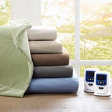 Beautyrest Washable Fleece Electric Blanket Queen/Taupe