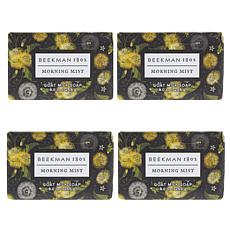 Beekman 1802 4-piece Morning Mist Goat Milk Bar Soap Set