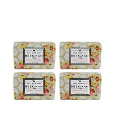 Beekman 1802 Apricot & Honey Tea Bar Soap 4-piece Set Auto-Ship®