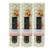 Beekman 1802 Apricot & Honey Tea Goat Milk Lip Balm Trio - Auto-Ship®