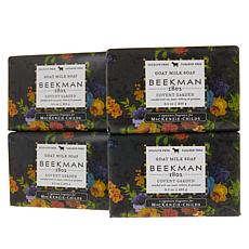 Beekman 1802 Covent Garden Goat Milk Bar Soap 4-piece Set