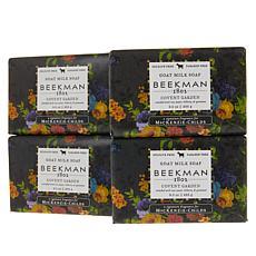 Beekman 1802 Covent Garden Goat Milk Bar Soap 4-piece Set