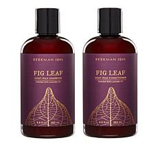 Beekman 1802 Fig Leaf Goat Milk Shampoo & Conditioner Set