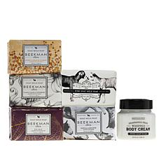 Beekman 1802 Goat Milk Bar Soap 5pc Set with Body Cream - Auto-Ship®