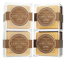 Beekman 1802 Goat Milk Lump of Gold 4-piece Set