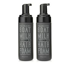 Beekman 1802 Goat Milk Volumizing Hair Foam Duo