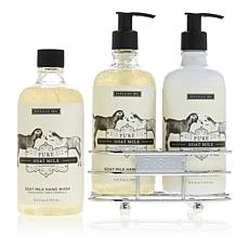 Beekman 1802 Pure Goat Milk Hand Wash & Lotion Caddy Set