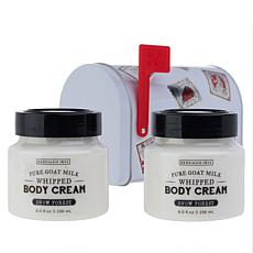 Beekman 1802 Snow Forest Body Cream Mailbox 2-piece Set