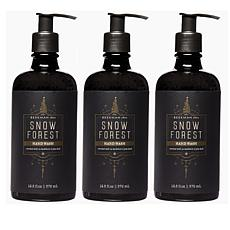 Beekman 1802 Snow Forest Goat Milk Hand Wash Trio
