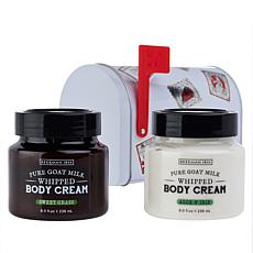 Beekman 1802 Sweet Grass & Aloe Body Cream Mailbox 2-piece Set