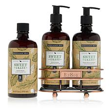 Beekman 1802 Sweet Grass Hand Wash & Lotion Caddy Set Auto-Ship®