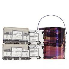 Beekman 1802 Vanilla Absolute & Honey Oats Goat Milk 4-piece Soap Pail