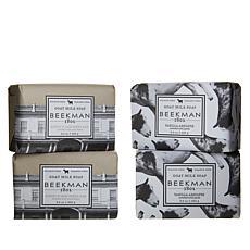Beekman 1802 Vanilla/Oats 4-piece Bar Soap Combo Pack