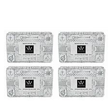 Beekman 1802 White Water Goat Milk Bar Soap 4-piece Set