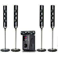 beFree Sound 5.1-Ch. 50W + 18W Bluetooth Speaker System