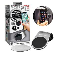 Bell + Howell Clever Grip Pro Hands-Free Phone Holder 2-pack