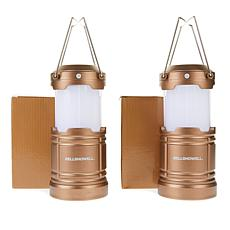 Bell + Howell Pop-up Flame TacLantern 2-pack with Soft Light