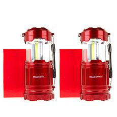 Bell + Howell Pop-up TacLantern with Spotlight 2-pack