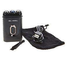 Bell + Howell Rechargeable TacShaver for Facial Hair