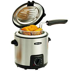 Bella 0.9L Deep Fryer, Stainless Steel