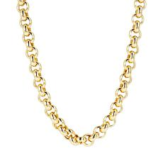 """Bellezza 34"""" Bronze Chunky Rolo Necklace"""