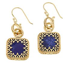 Bellezza Bronze Sodalite Reversible Drop Earrings
