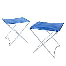 Belmont Garden Set of 2 XL Foldable Stools with Travel Bag