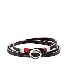 Ben Sherman Men's Wraparound Leather Cord Bracelet