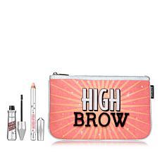 Benefit Cosmetics Gimme Brow and High Brow Black Warm Set with Bag