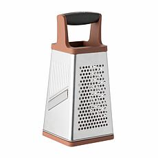 BergHOFF Leo 4-Sided Box Grater - Pink & Grey