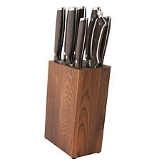 BergHOFF Rosewood 9-piece Stainless Steel Knife Set with Block