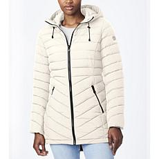 Bernardo EcoPlume Quilted Mid-Length Jacket