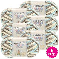 Bernat Baby Blanket Yarn 6-pack - Beach Babe