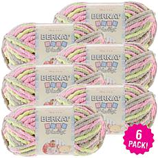 Bernat Baby Blanket Yarn 6-pack - Little Girl Dove