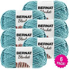 Bernat Blanket Yarn 6-pack - Light Teal