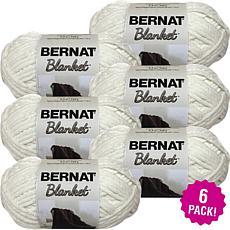 Bernat Blanket Yarn 6-pack - Vintage White