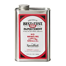 Best-Test Premium Acid Free White Rubber Paper Cement 32 oz.