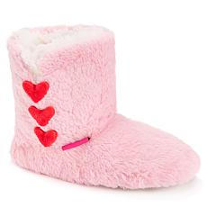 Betsey Johnson Women's Heart Slipper Booties