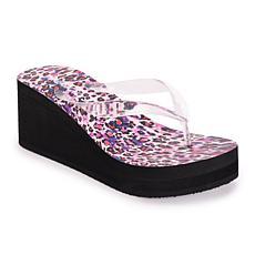 Betsey Johnson Women's High Wedge Sandals