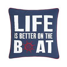 Better On The Boat Pillow