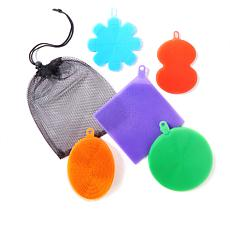 Better Sponge Set of 5 Textured Silicone Sponges