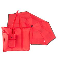 BetterBrella Compact Auto Open/Close Umbrella with Matching BetterBag