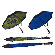BetterBrella Deluxe Reverse Open and Close Umbrella 2-pack