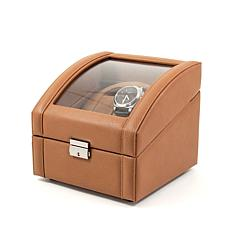 Bey-Berk 2 Watch Winder Leather Case