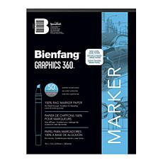 Bienfang Graphics 360 100% Rag Translucent Marker Paper 11x14 100-Pack