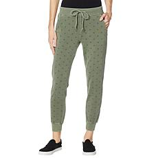 Billy T Army Star Pull-On Knit Jogger Pant